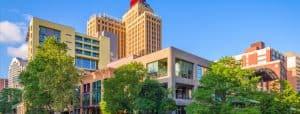 Buildings in San Antonio, Texas